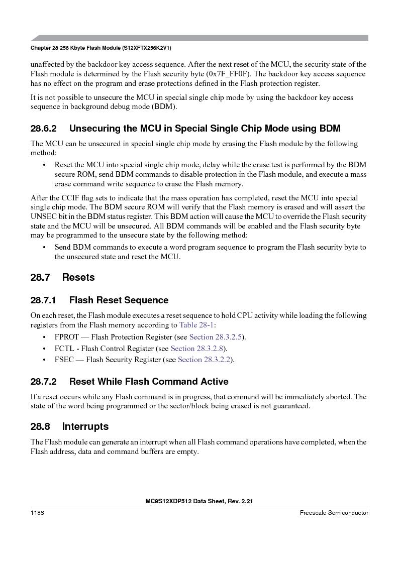 MC9S12XDT512MAL ,Freescale Semiconductor厂商,IC MCU 512K FLASH 112-LQFP, MC9S12XDT512MAL datasheet预览  第1186页