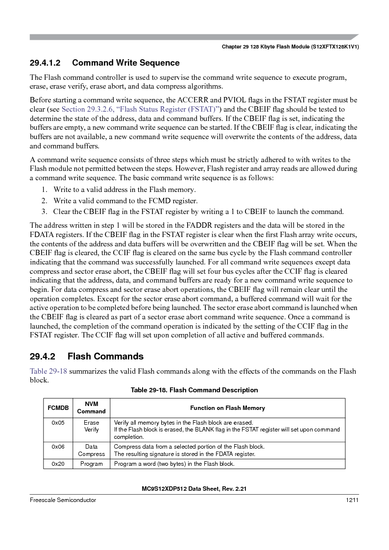 MC9S12XDT512MAL ,Freescale Semiconductor厂商,IC MCU 512K FLASH 112-LQFP, MC9S12XDT512MAL datasheet预览  第1209页
