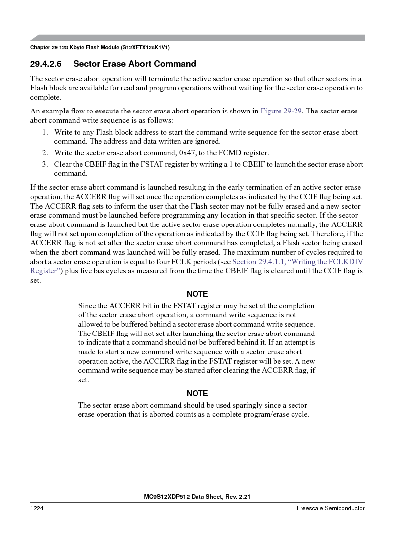 MC9S12XDT512MAL ,Freescale Semiconductor厂商,IC MCU 512K FLASH 112-LQFP, MC9S12XDT512MAL datasheet预览  第1222页