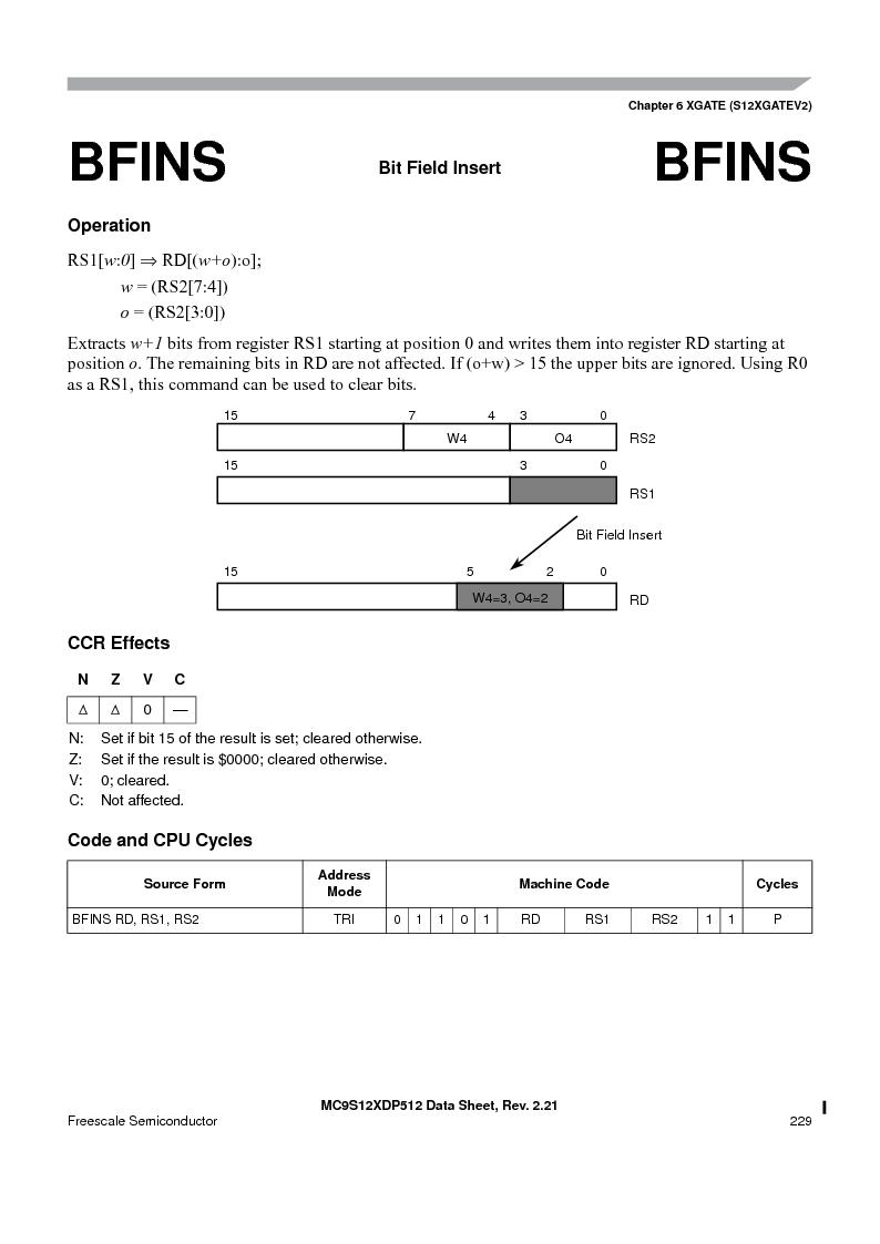 MC9S12XDT512MAL ,Freescale Semiconductor厂商,IC MCU 512K FLASH 112-LQFP, MC9S12XDT512MAL datasheet预览  第229页