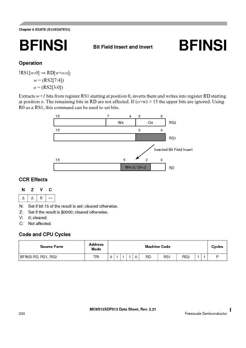 MC9S12XDT512MAL ,Freescale Semiconductor厂商,IC MCU 512K FLASH 112-LQFP, MC9S12XDT512MAL datasheet预览  第230页