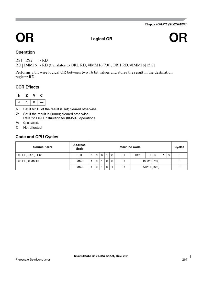 MC9S12XDT512MAL ,Freescale Semiconductor厂商,IC MCU 512K FLASH 112-LQFP, MC9S12XDT512MAL datasheet预览  第267页