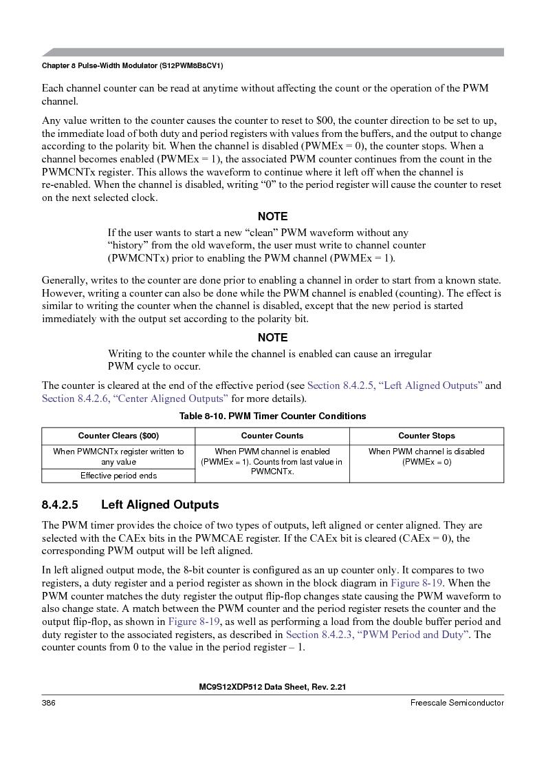MC9S12XDT512MAL ,Freescale Semiconductor厂商,IC MCU 512K FLASH 112-LQFP, MC9S12XDT512MAL datasheet预览  第386页