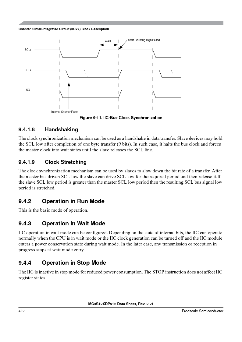 MC9S12XDT512MAL ,Freescale Semiconductor厂商,IC MCU 512K FLASH 112-LQFP, MC9S12XDT512MAL datasheet预览  第412页