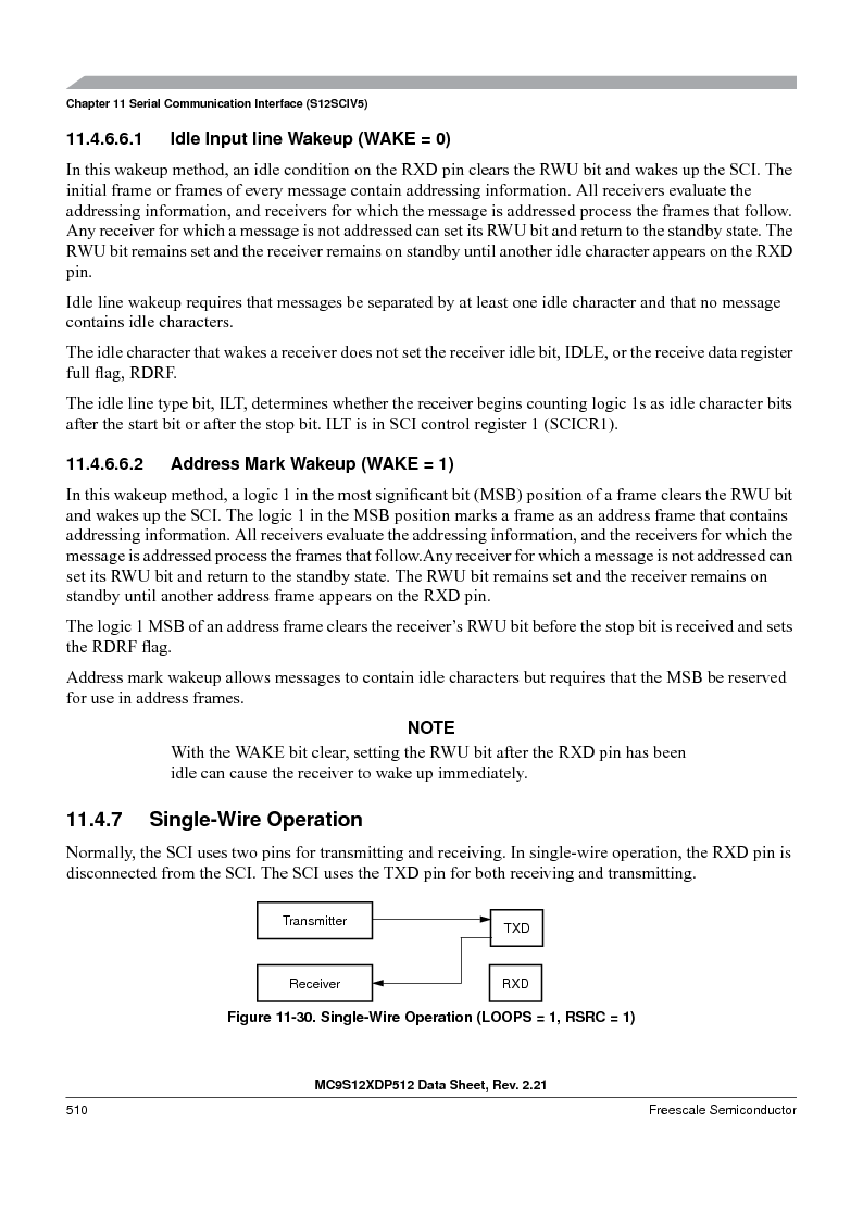 MC9S12XDT512MAL ,Freescale Semiconductor厂商,IC MCU 512K FLASH 112-LQFP, MC9S12XDT512MAL datasheet预览  第510页