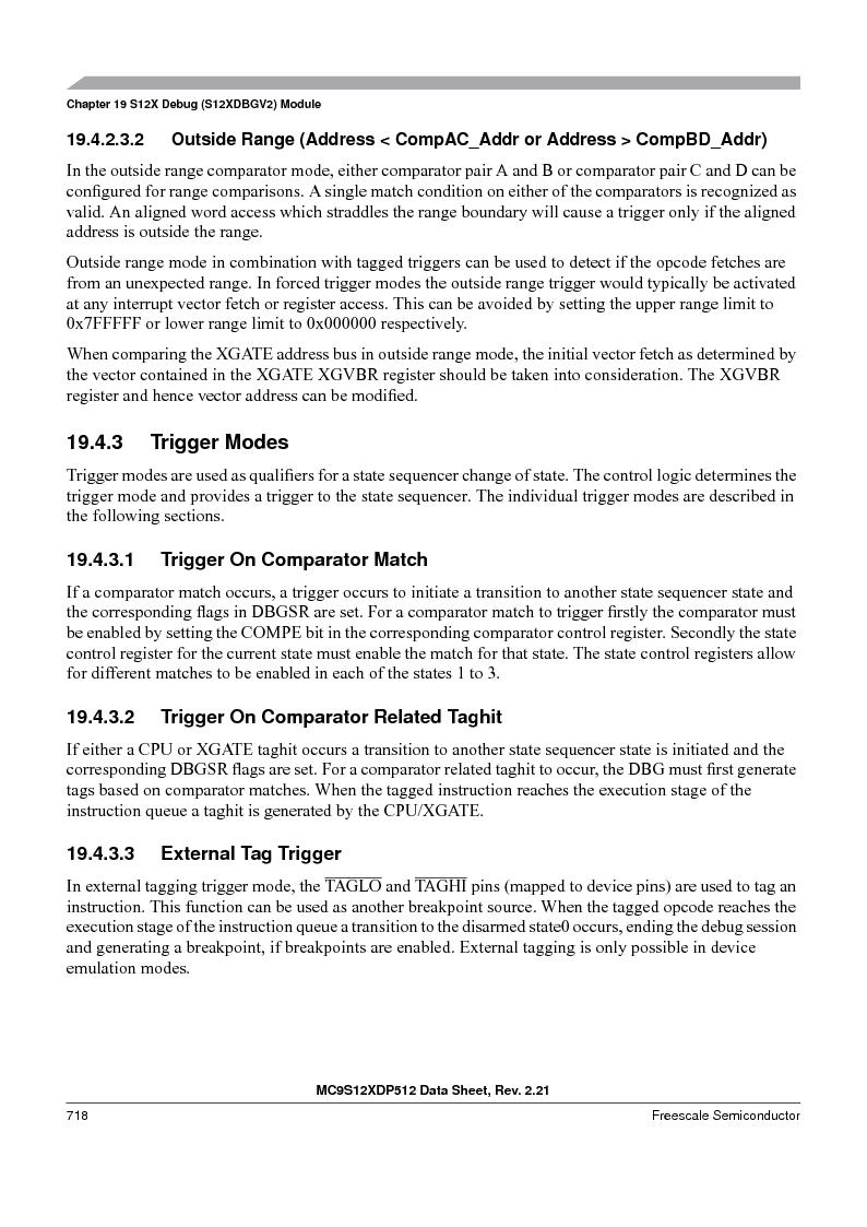 MC9S12XDT512MAL ,Freescale Semiconductor厂商,IC MCU 512K FLASH 112-LQFP, MC9S12XDT512MAL datasheet预览  第716页