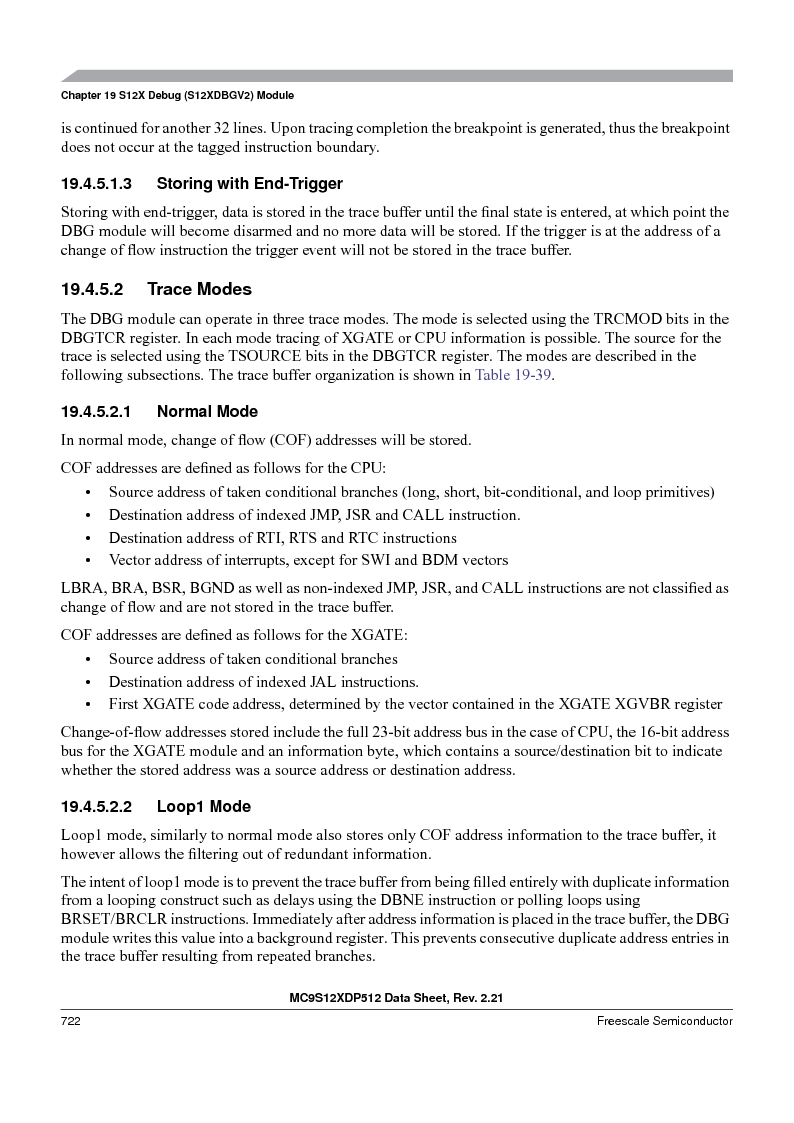 MC9S12XDT512MAL ,Freescale Semiconductor厂商,IC MCU 512K FLASH 112-LQFP, MC9S12XDT512MAL datasheet预览  第720页