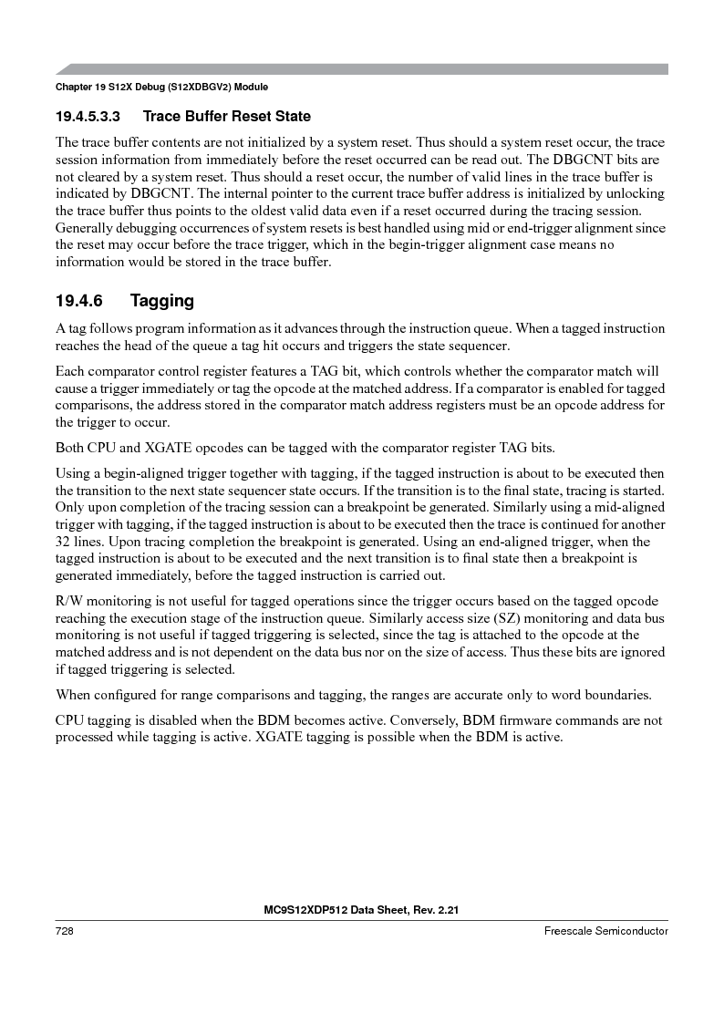 MC9S12XDT512MAL ,Freescale Semiconductor厂商,IC MCU 512K FLASH 112-LQFP, MC9S12XDT512MAL datasheet预览  第726页