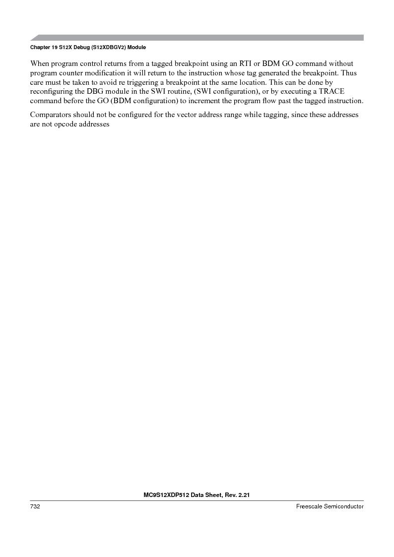 MC9S12XDT512MAL ,Freescale Semiconductor厂商,IC MCU 512K FLASH 112-LQFP, MC9S12XDT512MAL datasheet预览  第730页