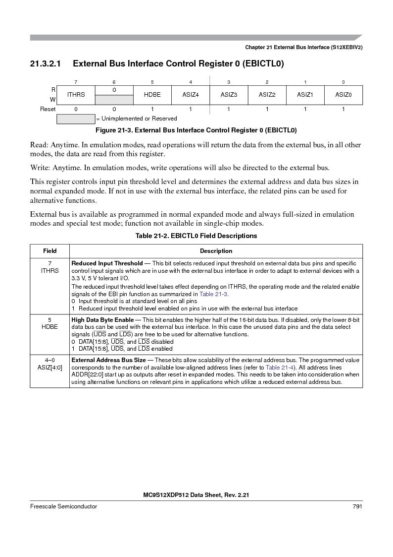 MC9S12XDT512MAL ,Freescale Semiconductor厂商,IC MCU 512K FLASH 112-LQFP, MC9S12XDT512MAL datasheet预览  第789页