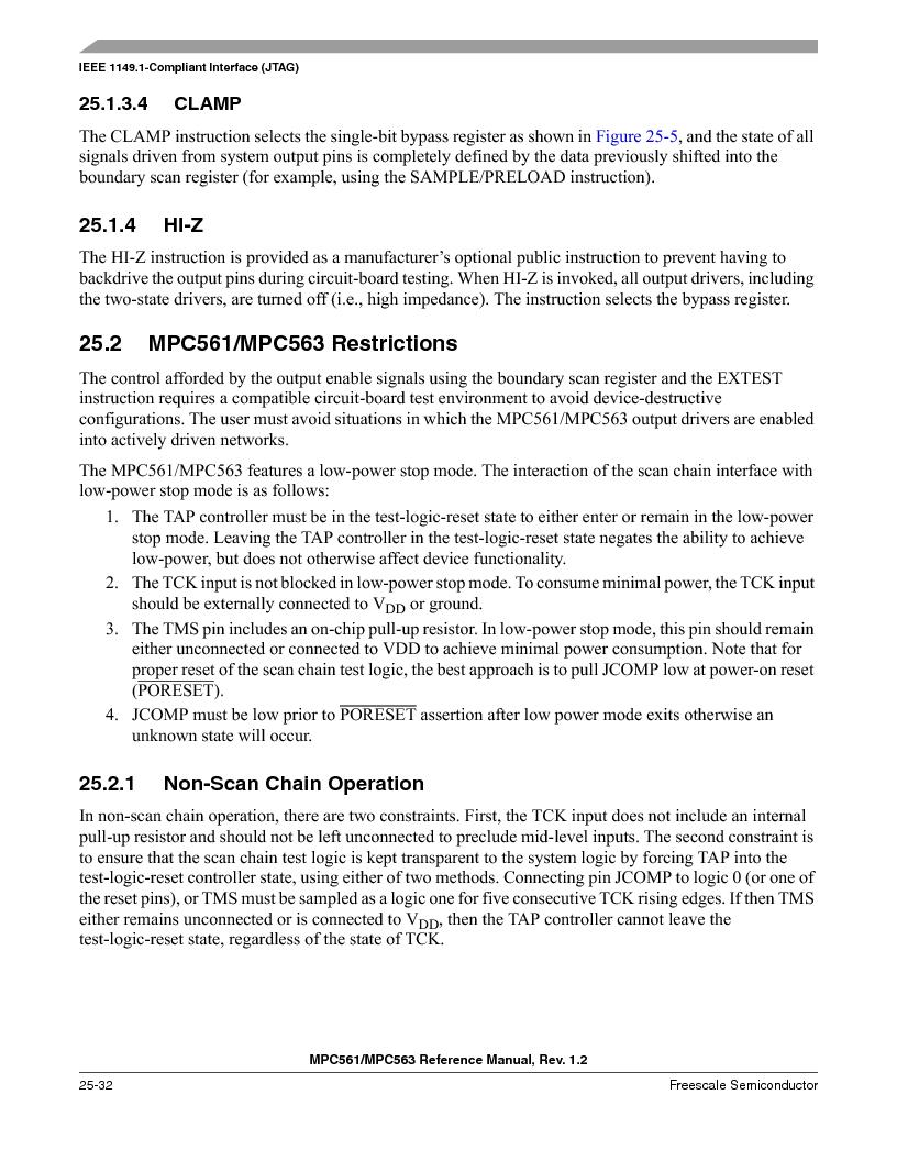 MPC561MZP56R2 ,Freescale Semiconductor厂商,IC MPU 32BIT 56MHZ 388-PBGA, MPC561MZP56R2 datasheet预览  第1086页
