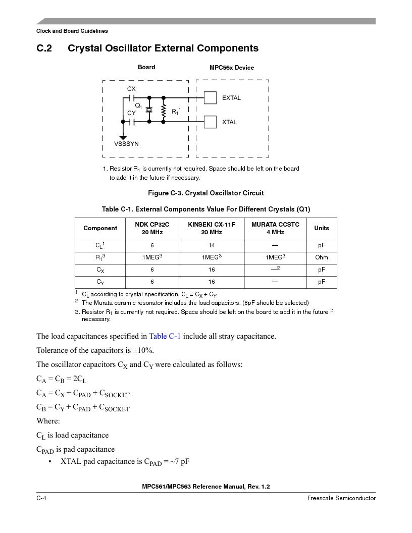 MPC561MZP56R2 ,Freescale Semiconductor厂商,IC MPU 32BIT 56MHZ 388-PBGA, MPC561MZP56R2 datasheet预览  第1148页