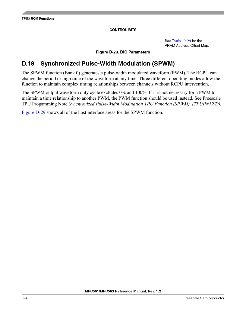 MPC561MZP56R2 ,Freescale Semiconductor厂商,IC MPU 32BIT 56MHZ 388-PBGA, MPC561MZP56R2 datasheet预览  第1200页