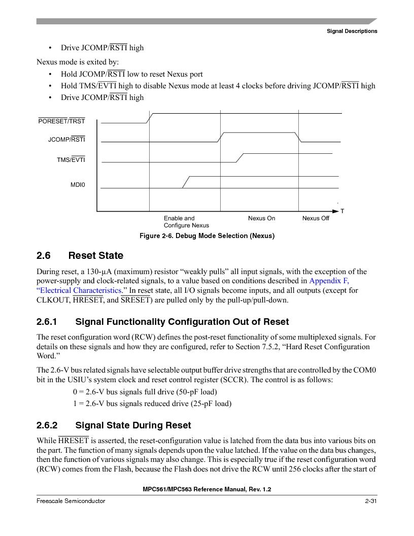 MPC561MZP56R2 ,Freescale Semiconductor厂商,IC MPU 32BIT 56MHZ 388-PBGA, MPC561MZP56R2 datasheet预览  第129页
