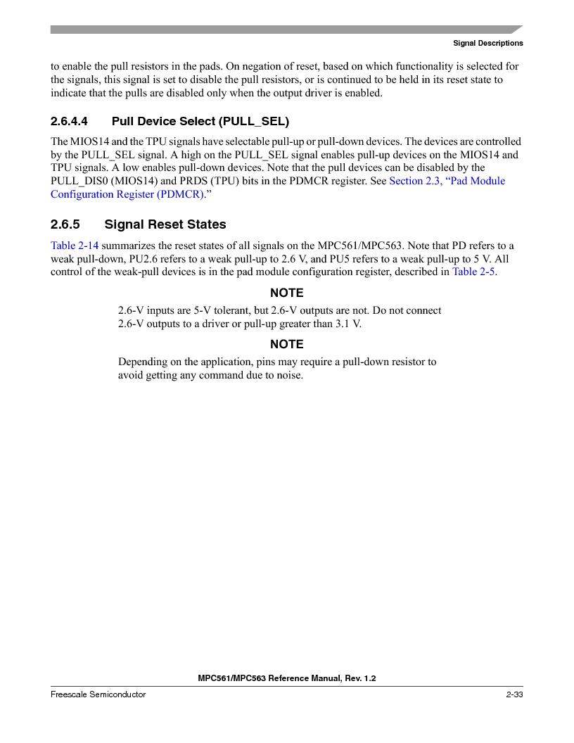 MPC561MZP56R2 ,Freescale Semiconductor厂商,IC MPU 32BIT 56MHZ 388-PBGA, MPC561MZP56R2 datasheet预览  第131页