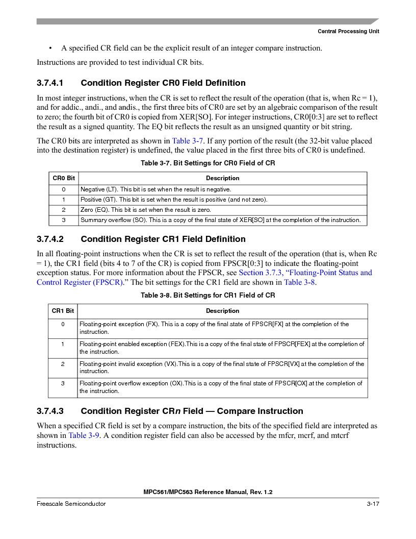 MPC561MZP56R2 ,Freescale Semiconductor厂商,IC MPU 32BIT 56MHZ 388-PBGA, MPC561MZP56R2 datasheet预览  第161页