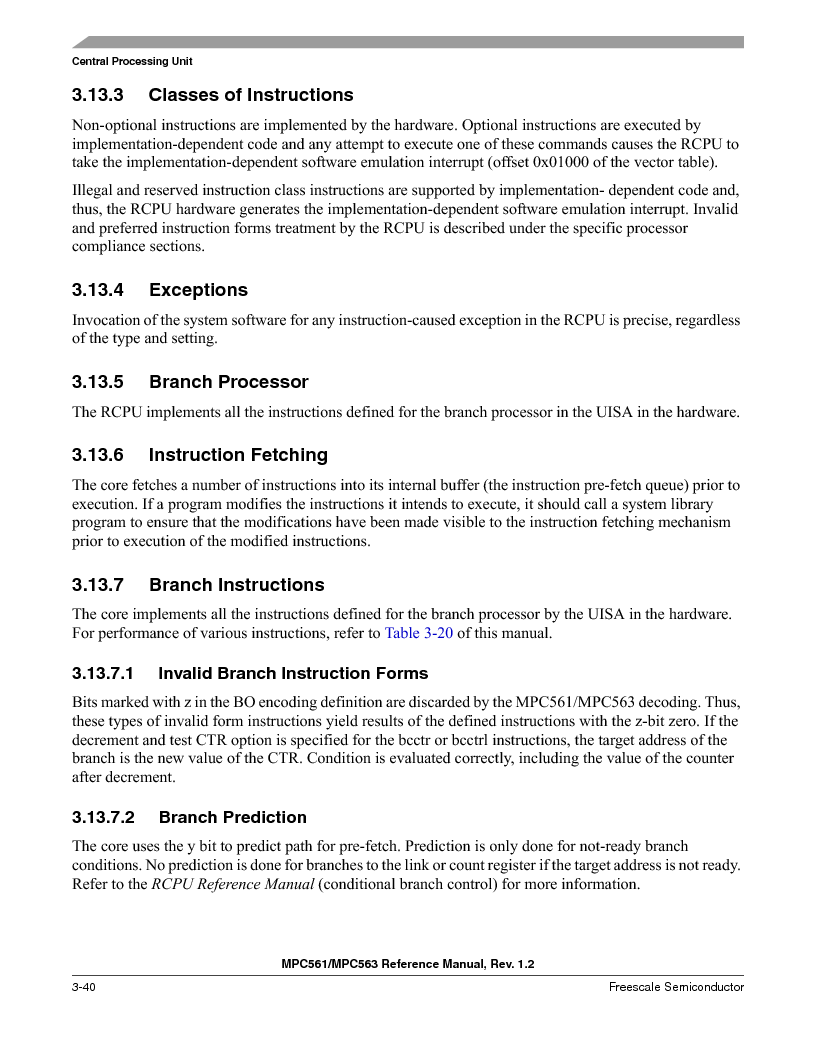 MPC561MZP56R2 ,Freescale Semiconductor厂商,IC MPU 32BIT 56MHZ 388-PBGA, MPC561MZP56R2 datasheet预览  第184页