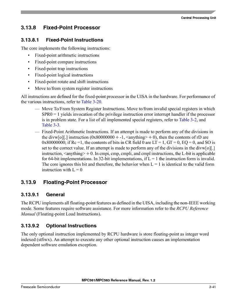 MPC561MZP56R2 ,Freescale Semiconductor厂商,IC MPU 32BIT 56MHZ 388-PBGA, MPC561MZP56R2 datasheet预览  第185页