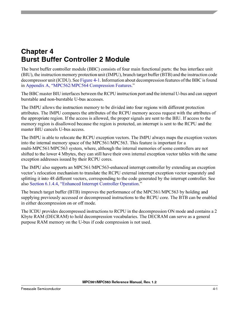 MPC561MZP56R2 ,Freescale Semiconductor厂商,IC MPU 32BIT 56MHZ 388-PBGA, MPC561MZP56R2 datasheet预览  第207页