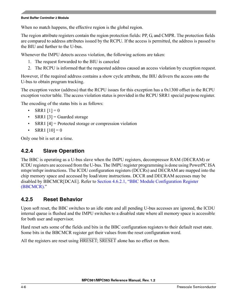 MPC561MZP56R2 ,Freescale Semiconductor厂商,IC MPU 32BIT 56MHZ 388-PBGA, MPC561MZP56R2 datasheet预览  第212页