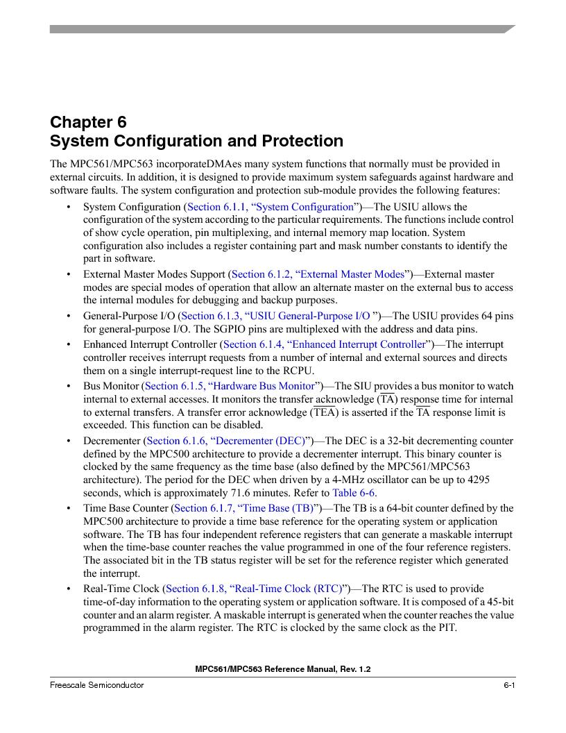 MPC561MZP56R2 ,Freescale Semiconductor厂商,IC MPU 32BIT 56MHZ 388-PBGA, MPC561MZP56R2 datasheet预览  第241页