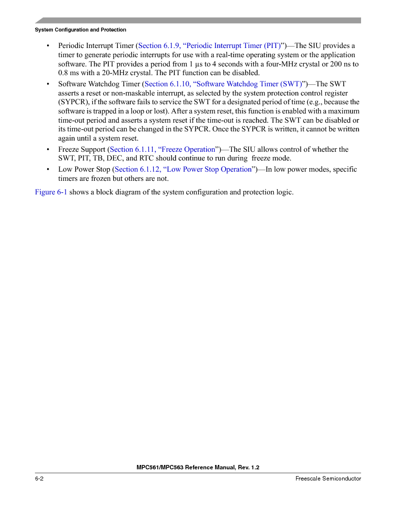 MPC561MZP56R2 ,Freescale Semiconductor厂商,IC MPU 32BIT 56MHZ 388-PBGA, MPC561MZP56R2 datasheet预览  第242页