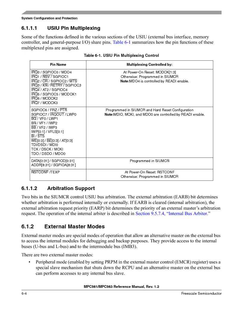 MPC561MZP56R2 ,Freescale Semiconductor厂商,IC MPU 32BIT 56MHZ 388-PBGA, MPC561MZP56R2 datasheet预览  第244页