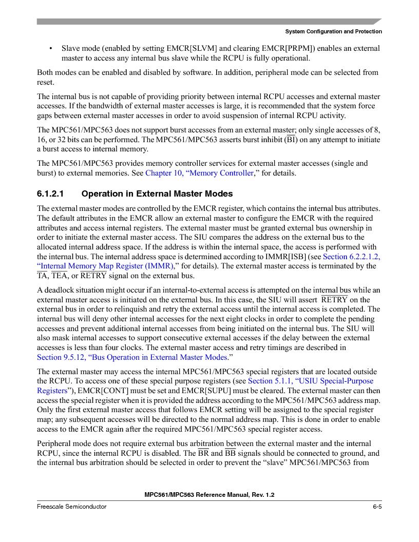 MPC561MZP56R2 ,Freescale Semiconductor厂商,IC MPU 32BIT 56MHZ 388-PBGA, MPC561MZP56R2 datasheet预览  第245页