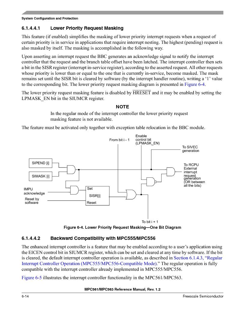 MPC561MZP56R2 ,Freescale Semiconductor厂商,IC MPU 32BIT 56MHZ 388-PBGA, MPC561MZP56R2 datasheet预览  第254页