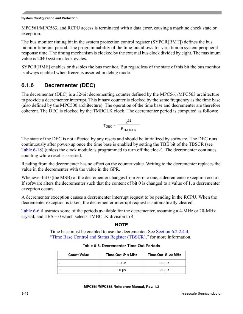 MPC561MZP56R2 ,Freescale Semiconductor厂商,IC MPU 32BIT 56MHZ 388-PBGA, MPC561MZP56R2 datasheet预览  第258页