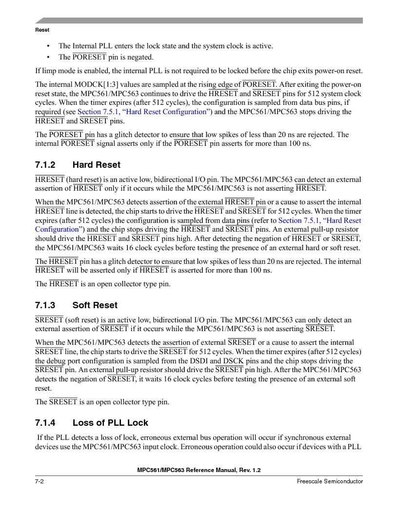 MPC561MZP56R2 ,Freescale Semiconductor厂商,IC MPU 32BIT 56MHZ 388-PBGA, MPC561MZP56R2 datasheet预览  第290页