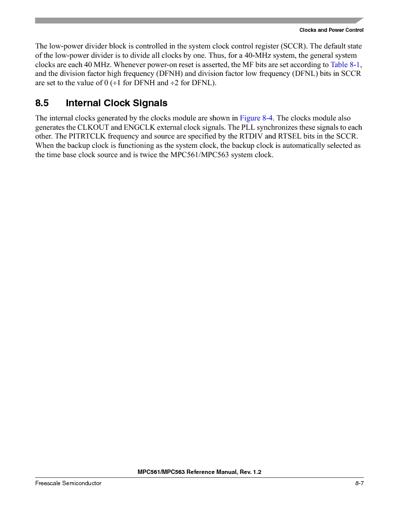 MPC561MZP56R2 ,Freescale Semiconductor厂商,IC MPU 32BIT 56MHZ 388-PBGA, MPC561MZP56R2 datasheet预览  第309页