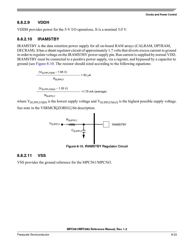 MPC561MZP56R2 ,Freescale Semiconductor厂商,IC MPU 32BIT 56MHZ 388-PBGA, MPC561MZP56R2 datasheet预览  第325页