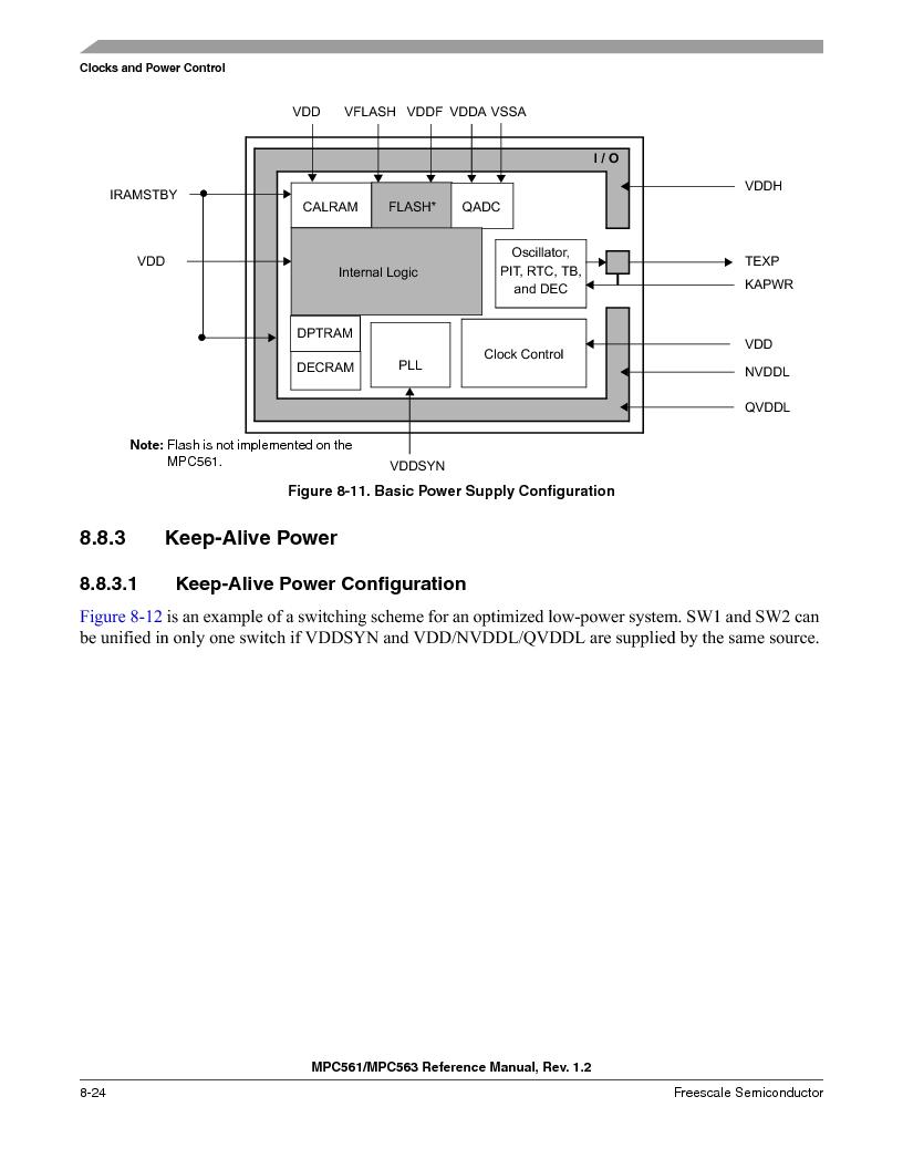 MPC561MZP56R2 ,Freescale Semiconductor厂商,IC MPU 32BIT 56MHZ 388-PBGA, MPC561MZP56R2 datasheet预览  第326页