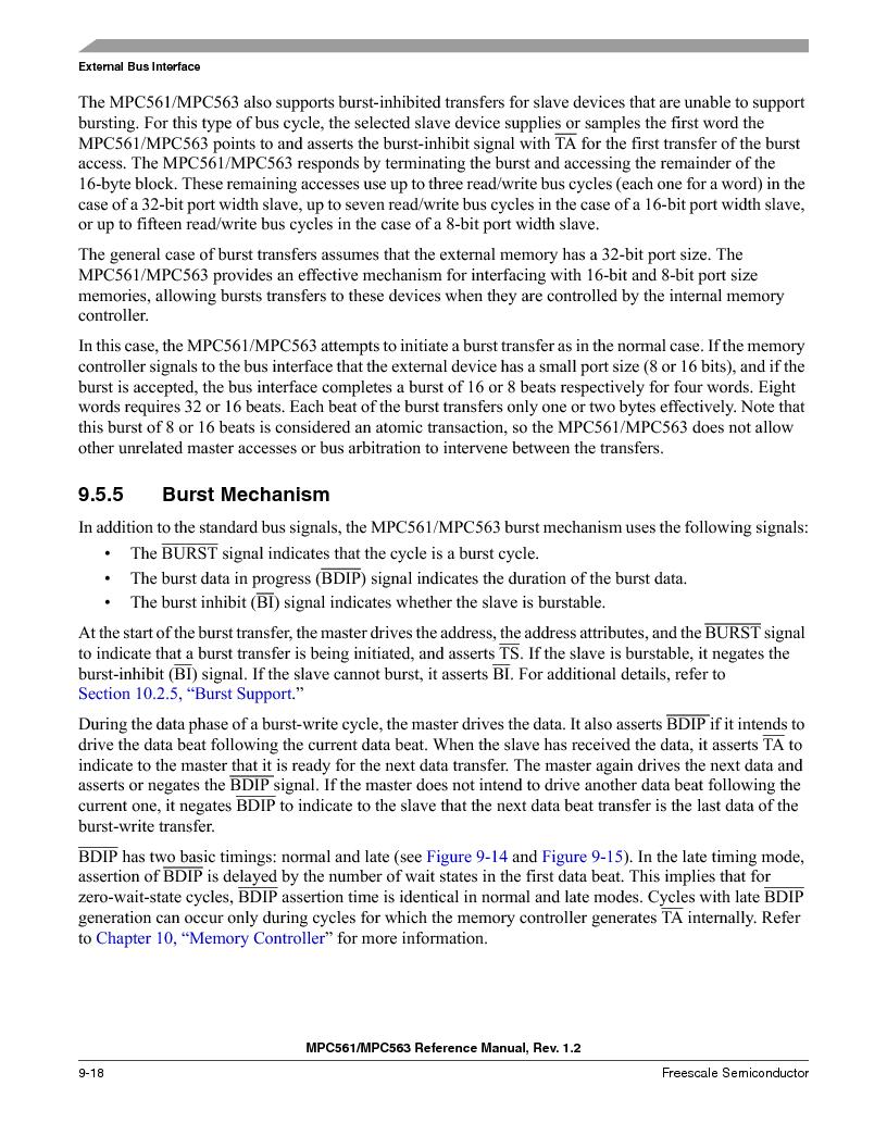 MPC561MZP56R2 ,Freescale Semiconductor厂商,IC MPU 32BIT 56MHZ 388-PBGA, MPC561MZP56R2 datasheet预览  第358页