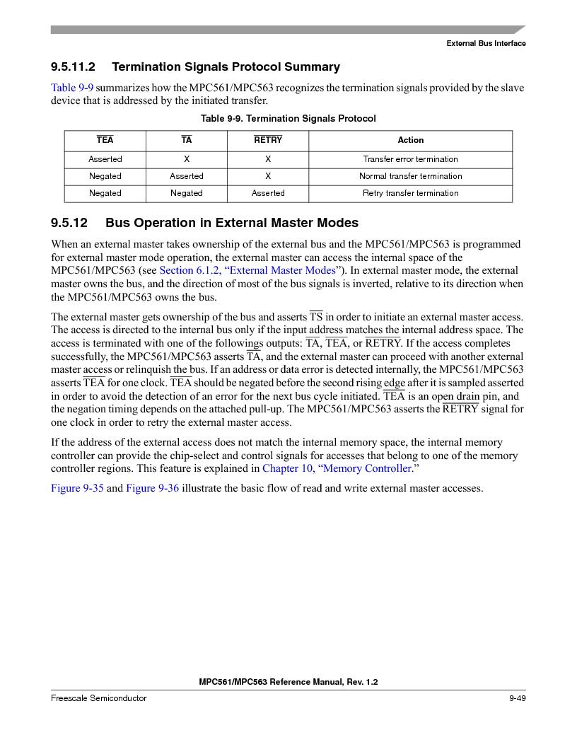 MPC561MZP56R2 ,Freescale Semiconductor厂商,IC MPU 32BIT 56MHZ 388-PBGA, MPC561MZP56R2 datasheet预览  第389页