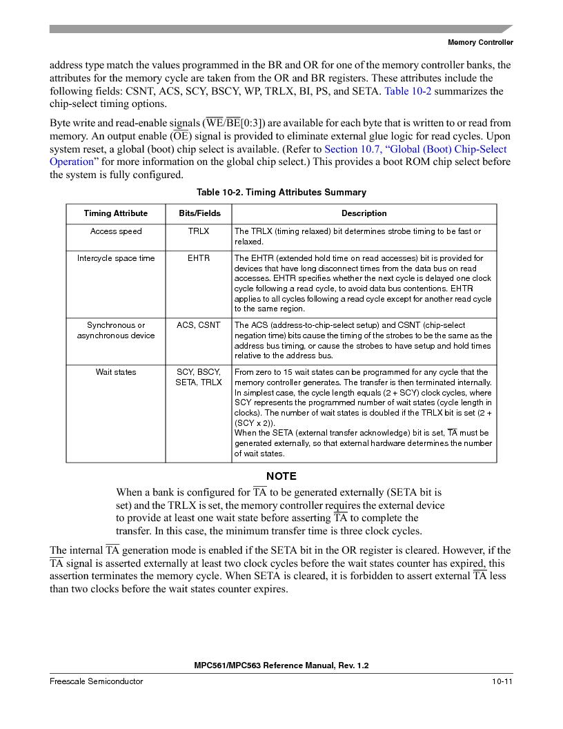 MPC561MZP56R2 ,Freescale Semiconductor厂商,IC MPU 32BIT 56MHZ 388-PBGA, MPC561MZP56R2 datasheet预览  第409页