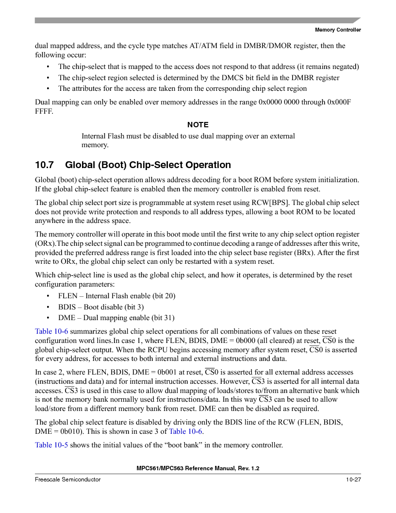 MPC561MZP56R2 ,Freescale Semiconductor厂商,IC MPU 32BIT 56MHZ 388-PBGA, MPC561MZP56R2 datasheet预览  第425页