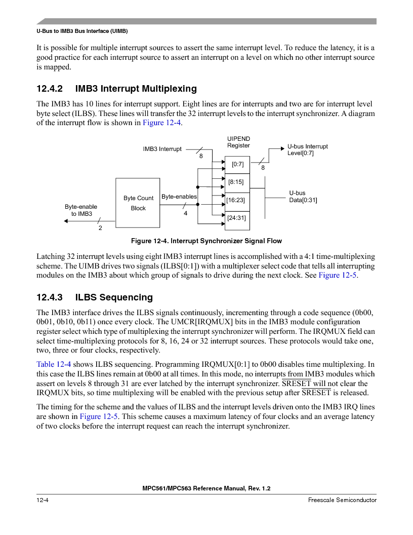 MPC561MZP56R2 ,Freescale Semiconductor厂商,IC MPU 32BIT 56MHZ 388-PBGA, MPC561MZP56R2 datasheet预览  第458页