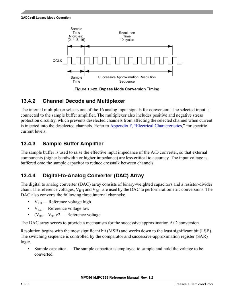 MPC561MZP56R2 ,Freescale Semiconductor厂商,IC MPU 32BIT 56MHZ 388-PBGA, MPC561MZP56R2 datasheet预览  第500页