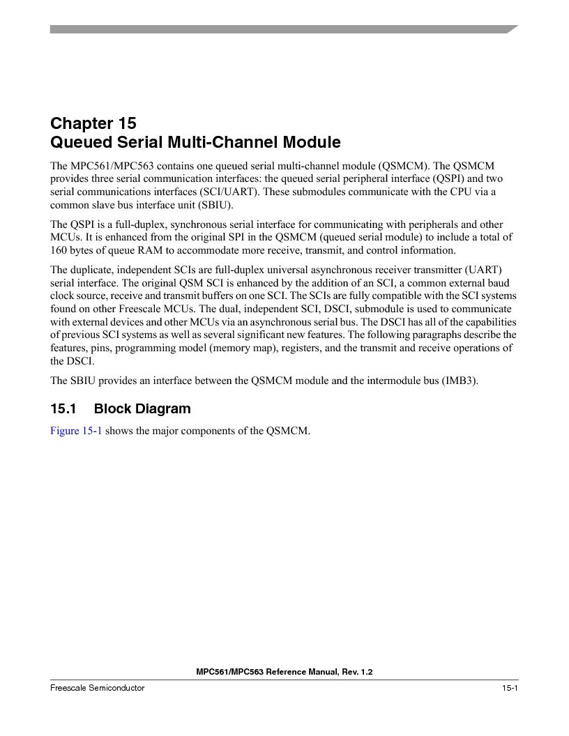 MPC561MZP56R2 ,Freescale Semiconductor厂商,IC MPU 32BIT 56MHZ 388-PBGA, MPC561MZP56R2 datasheet预览  第619页