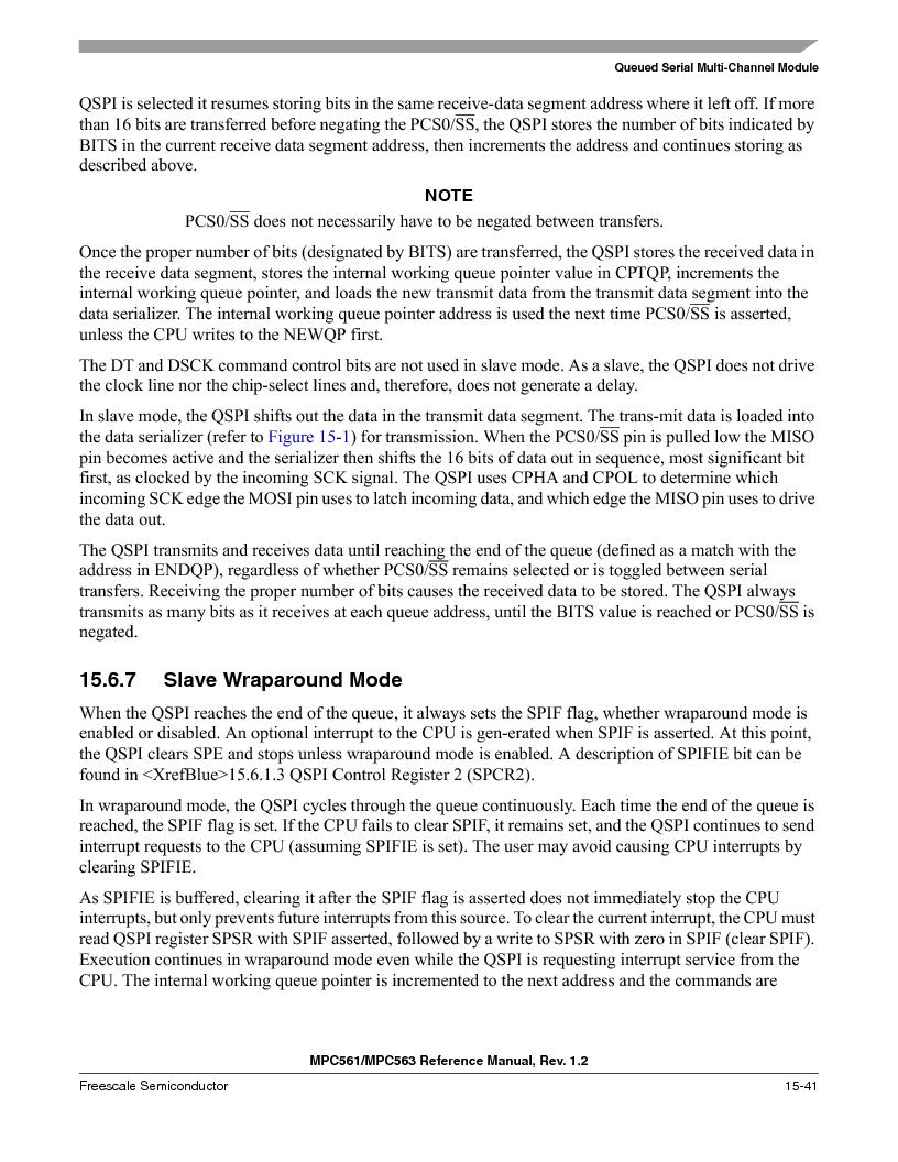 MPC561MZP56R2 ,Freescale Semiconductor厂商,IC MPU 32BIT 56MHZ 388-PBGA, MPC561MZP56R2 datasheet预览  第659页