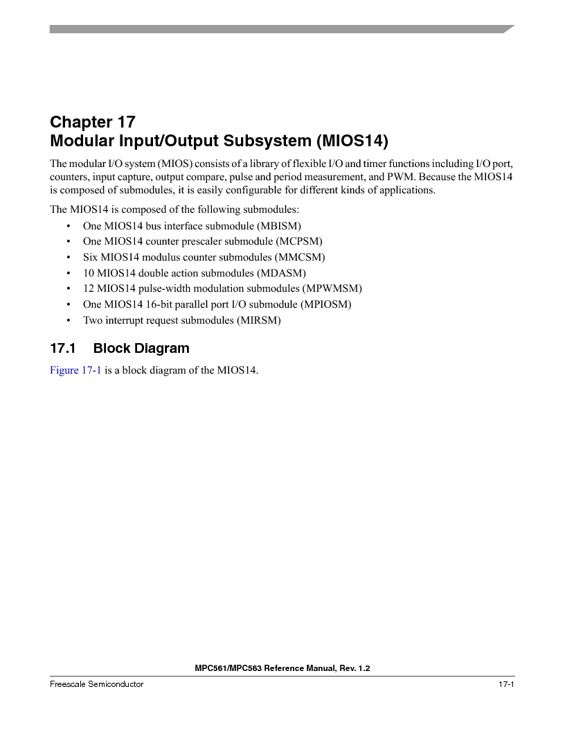 MPC561MZP56R2 ,Freescale Semiconductor厂商,IC MPU 32BIT 56MHZ 388-PBGA, MPC561MZP56R2 datasheet预览  第733页