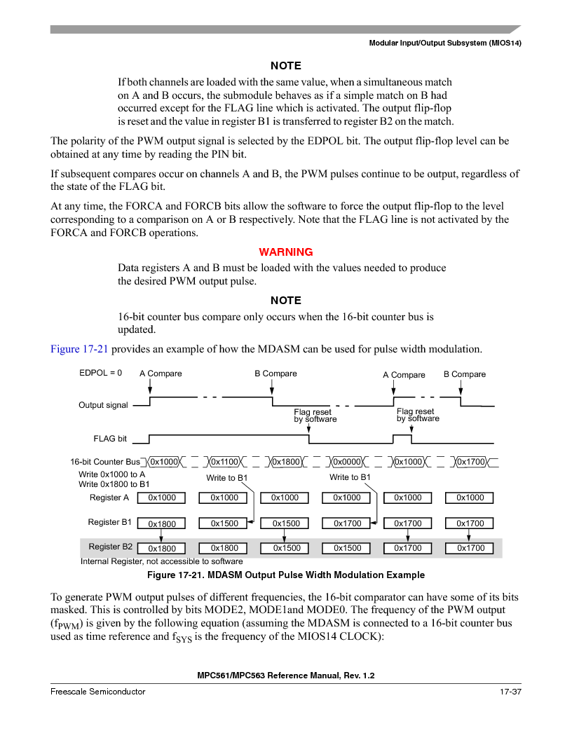 MPC561MZP56R2 ,Freescale Semiconductor厂商,IC MPU 32BIT 56MHZ 388-PBGA, MPC561MZP56R2 datasheet预览  第769页
