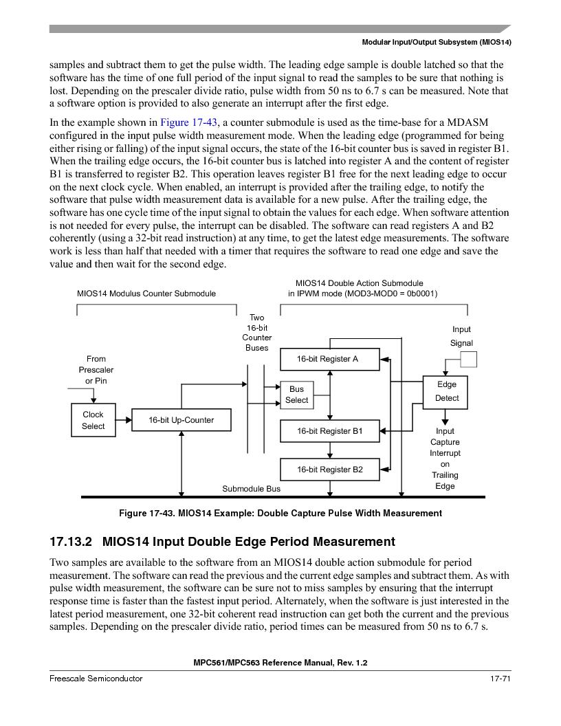 MPC561MZP56R2 ,Freescale Semiconductor厂商,IC MPU 32BIT 56MHZ 388-PBGA, MPC561MZP56R2 datasheet预览  第803页