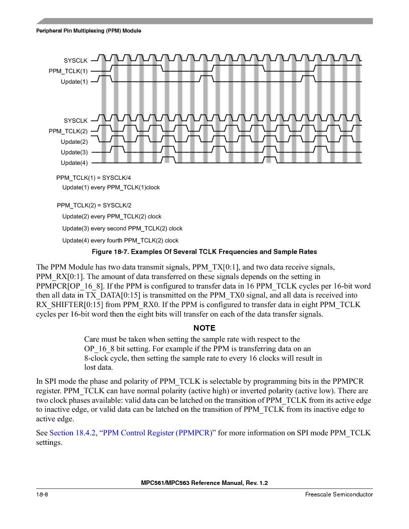 MPC561MZP56R2 ,Freescale Semiconductor厂商,IC MPU 32BIT 56MHZ 388-PBGA, MPC561MZP56R2 datasheet预览  第814页