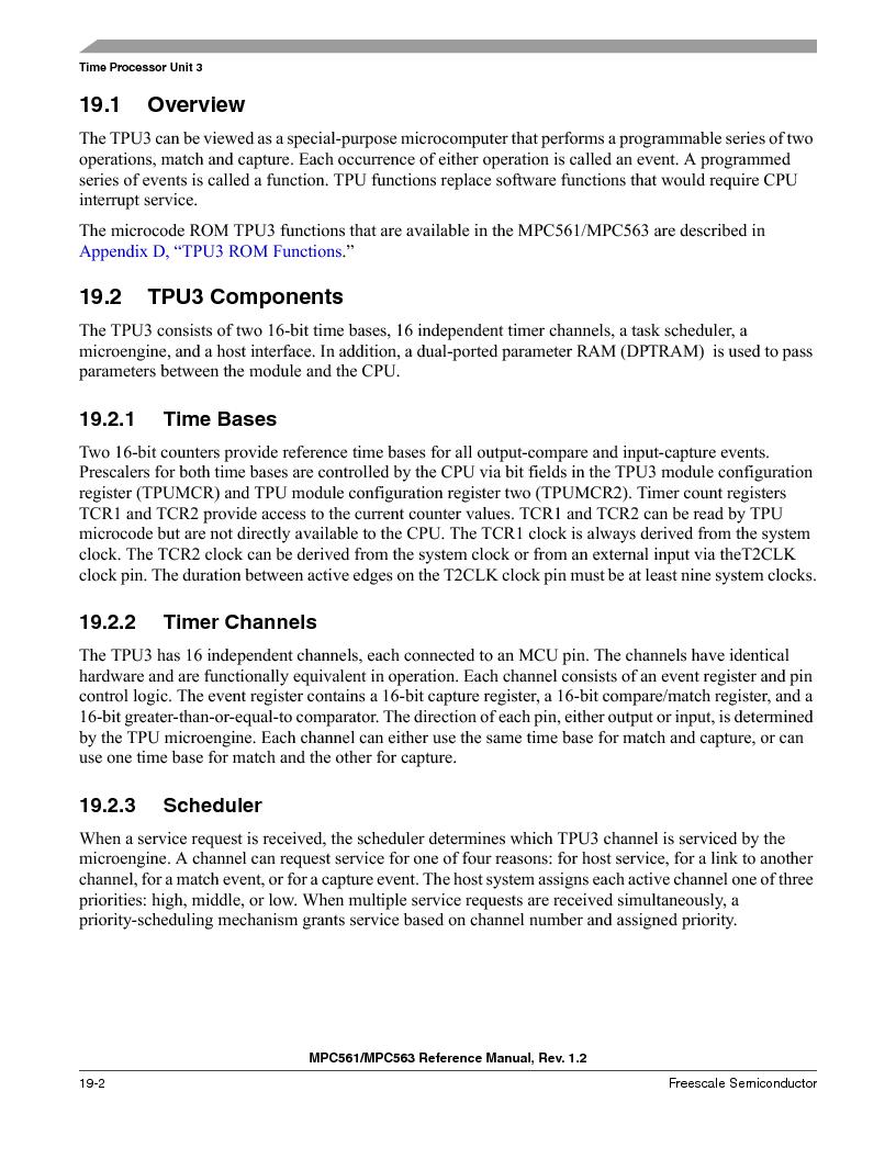 MPC561MZP56R2 ,Freescale Semiconductor厂商,IC MPU 32BIT 56MHZ 388-PBGA, MPC561MZP56R2 datasheet预览  第832页