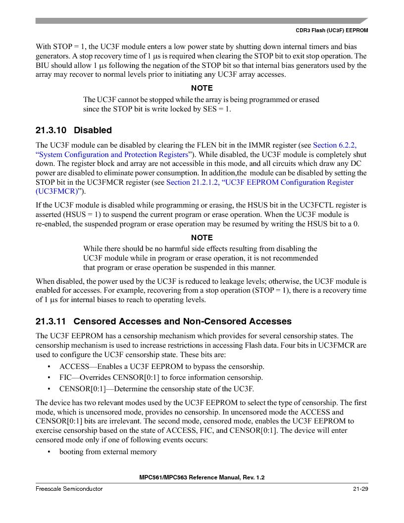 MPC561MZP56R2 ,Freescale Semiconductor厂商,IC MPU 32BIT 56MHZ 388-PBGA, MPC561MZP56R2 datasheet预览  第891页