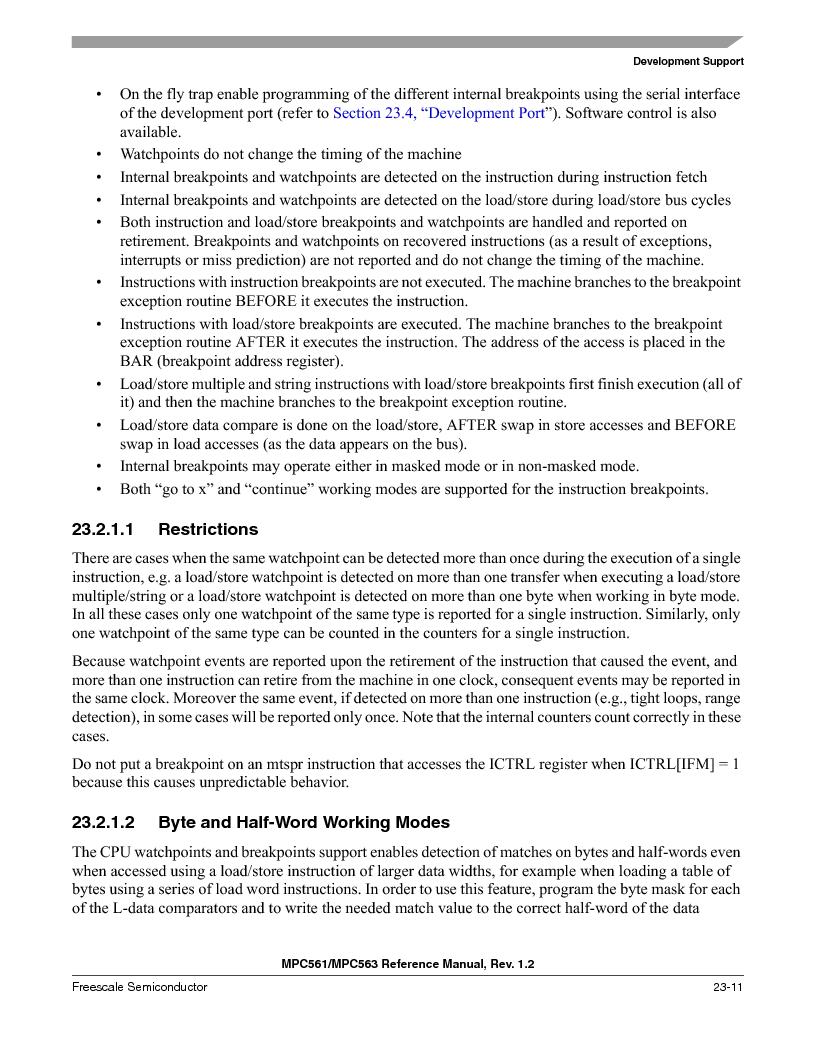 MPC561MZP56R2 ,Freescale Semiconductor厂商,IC MPU 32BIT 56MHZ 388-PBGA, MPC561MZP56R2 datasheet预览  第925页