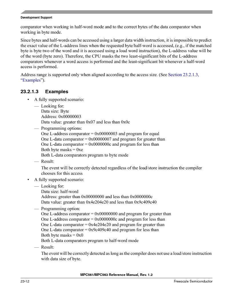 MPC561MZP56R2 ,Freescale Semiconductor厂商,IC MPU 32BIT 56MHZ 388-PBGA, MPC561MZP56R2 datasheet预览  第926页